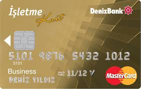 Denizbank Business Card